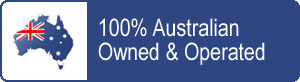 100% Australian-owned and operated